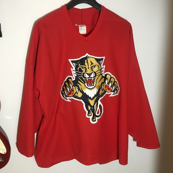factory price 860d8 481dd Florida Panthers Vintage Hockey Jersey Practice